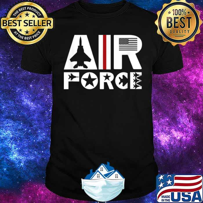Air Force with F15 Jet Shirt