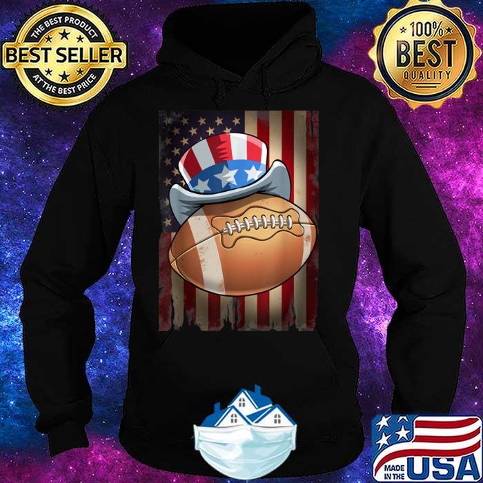 Football 4th of July Funny Men Women Gift Shirt Hoodie