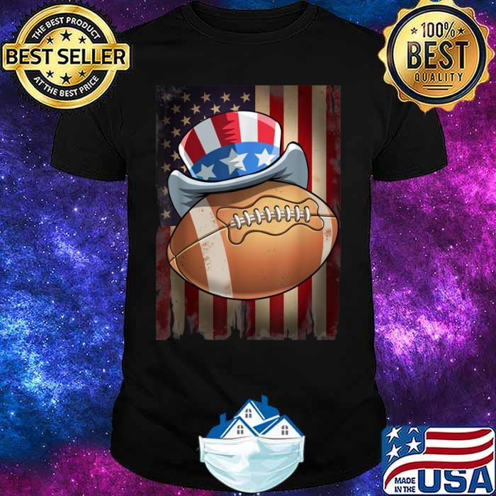 Football 4th of July Funny Men Women Gift Shirt