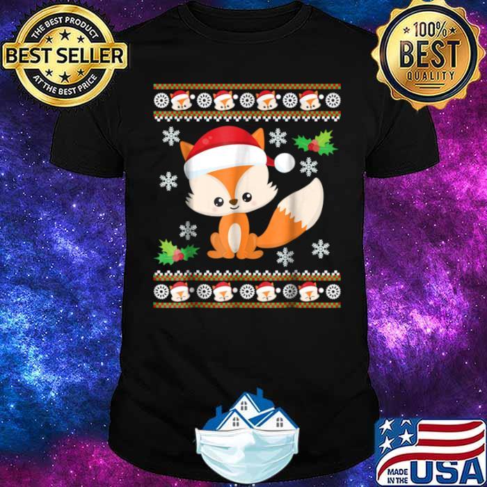 Fox Ugly Christmas Sweater Shirt