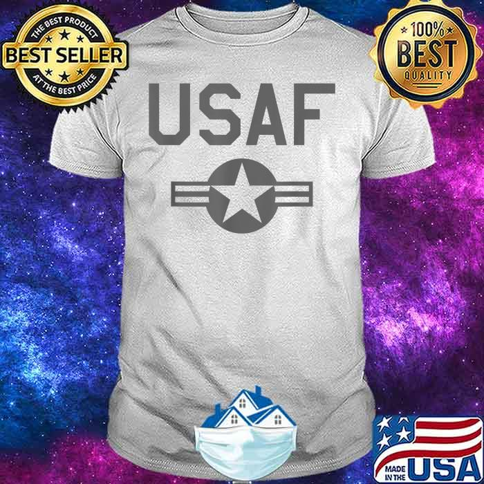 USAF UNITED STATES AIR FORCE ROUNDEL LOW VIS GRAY Shirt
